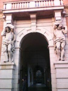 portal Rome Via Nazionale