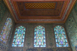Stained Glass Topkapi Palace Istanbul