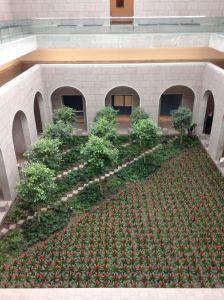 garden courtyard NGC
