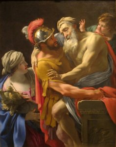 Aeneas_and_his_Father_Fleeing_Troy_by_Simon_Vouet,_San_Diego_Museum_of_Art