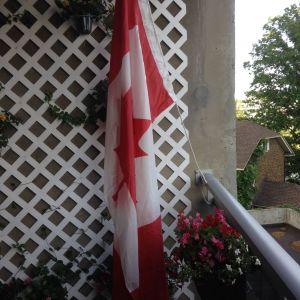 flag balcon