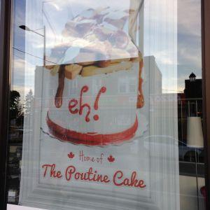 poutine cake