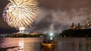 fireworks Ottawa