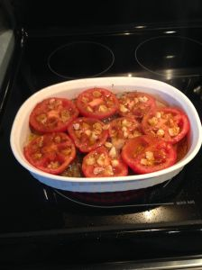 grill tomatoes