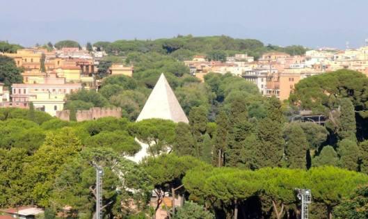 View from Monte dei Cocci Testaccio