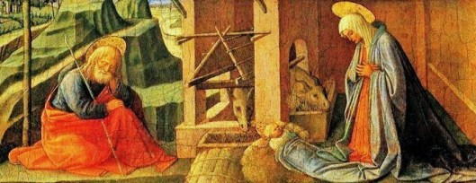 Fra Filippo Lippi (Italian Renaissance painter, c 1406–1469) also called Lippo Lippi, Nativity-large.jpg