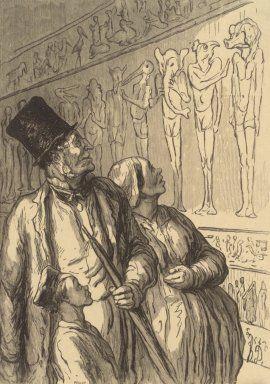 Honoré Daumier Les égyptiens etaient laid.jpg