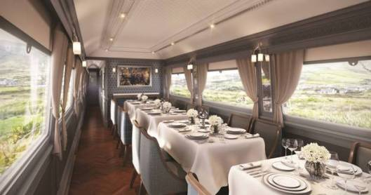 Belmond Grand Hibernian Train Sligo Dining car.jpg