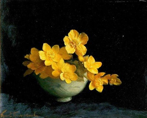 Ernest Townsend, Marsh Marigolds.jpg