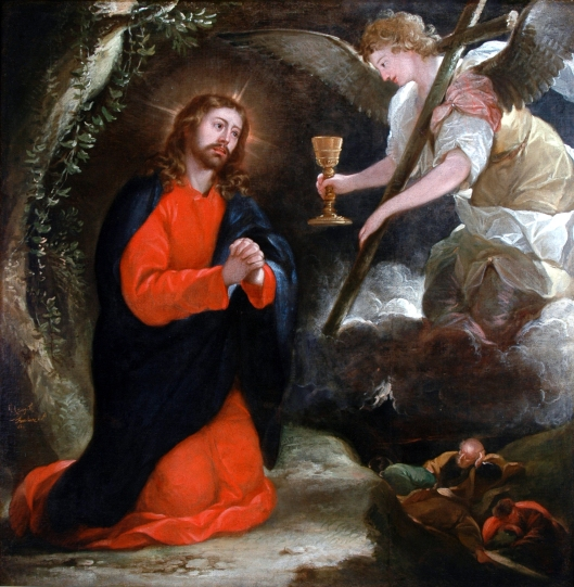 Agony in the Garden, José Antolínez (1639-1676)